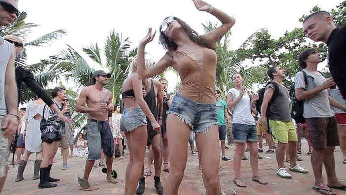 Western expats partying in Cambodia