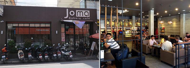 Joma Bakery Cafe Phnom Penh