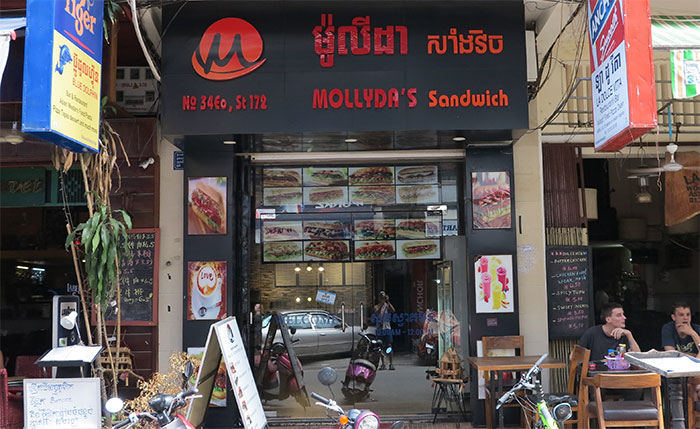 Molly Sandwiches Phnom Penh