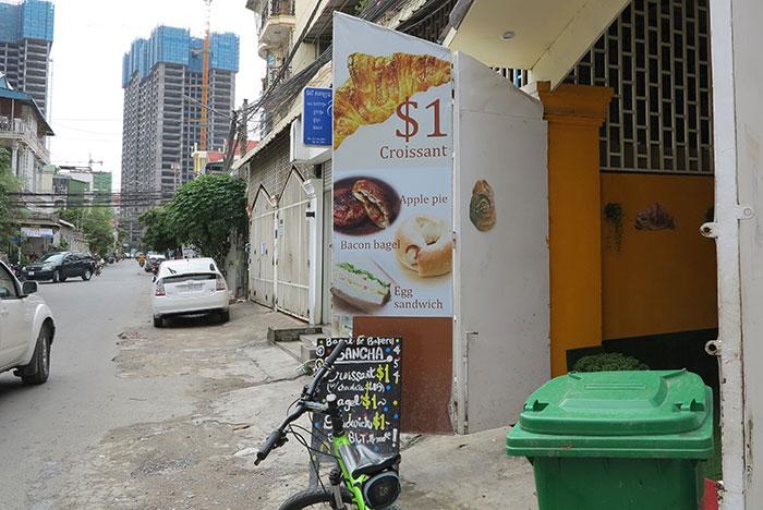 Sancha Japanese bakery Phnom Penh