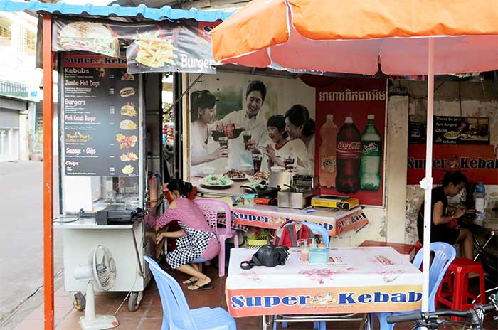 Super Kebab, Phnom Penh Cambodia