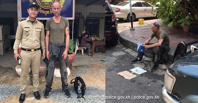 Homeless British teacher caught in Phnom Penh