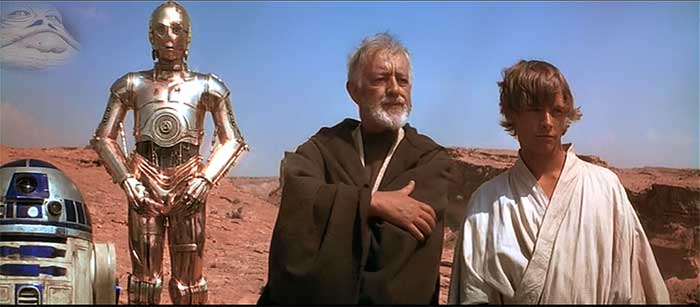 Star Wars Mos Eisley scene