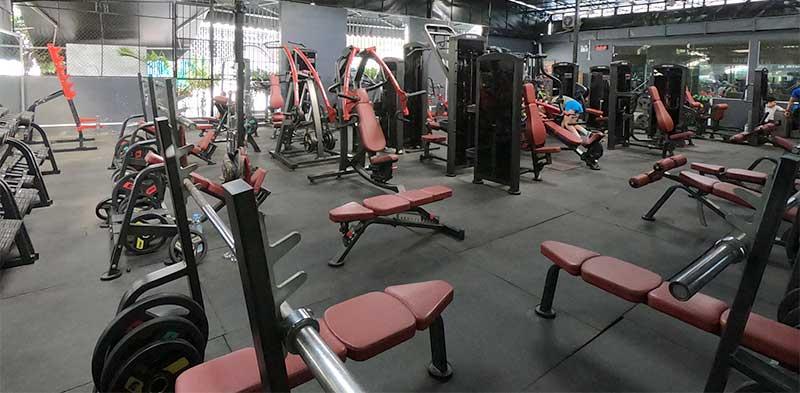 Core Explore Fitness gym in Phnom Penh Cambodia