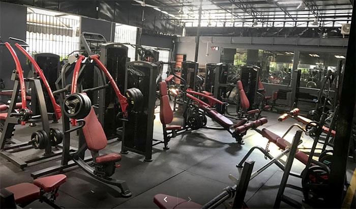 Core Explore fitness gym interior view