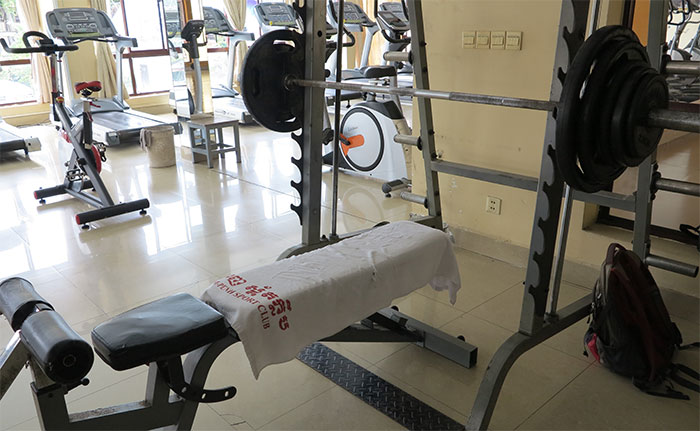 PP Sports club gym weights