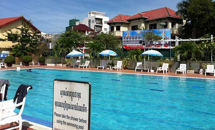 Phnom Penh Sports Club swimming pool