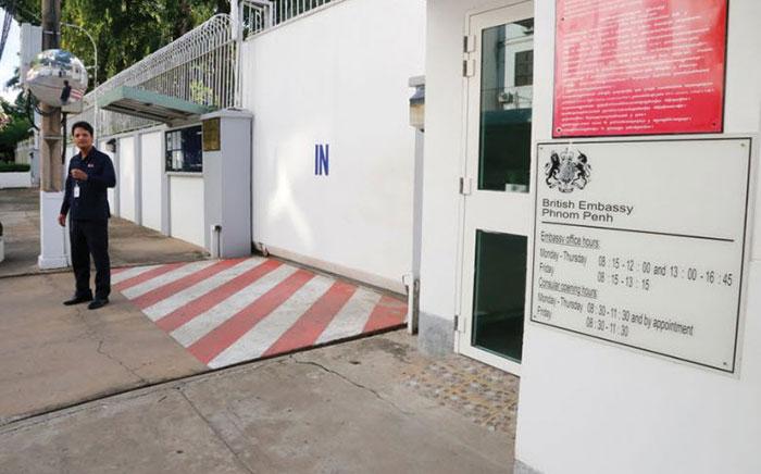 Canadian Embassy in Phnom Penh Cambodia