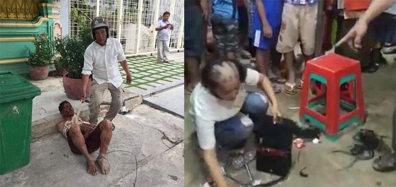 Phnom Penh street justice